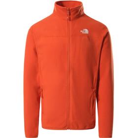 The North Face 100 Glacier Full Zip Jacket Men burnt ochre